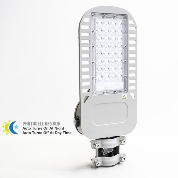 50w Photocell LED Streetlight With Samsung Chip 5 years Warranty