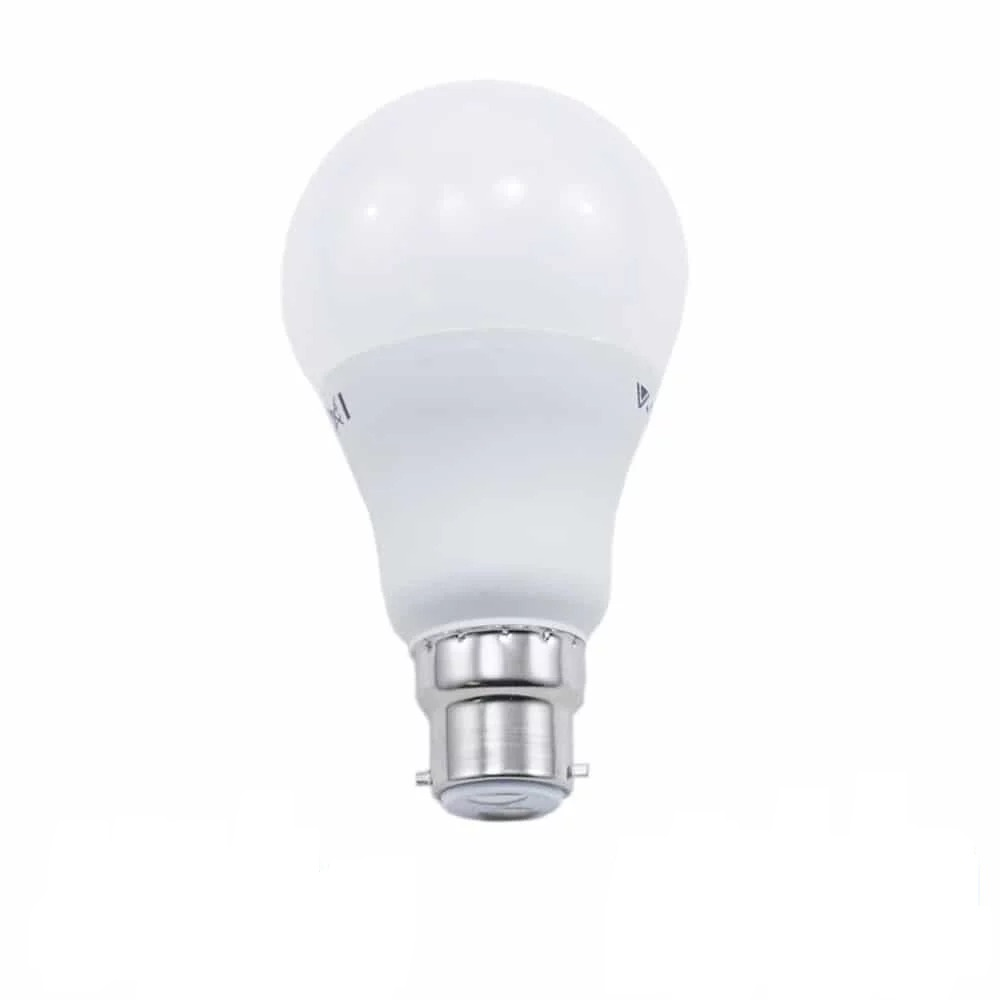 9W A60 PLASTIC BULB WITH SAMSUNG CHIP COLORCODE:3000K B22 DIMMABLE A+