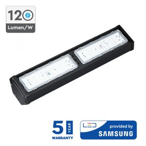 100W SAMSUNG LED Linear High Bay Light Black Body (12000 Lumens)
