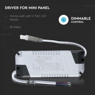 18W DIMMABLE DRIVER FOR LED PANEL