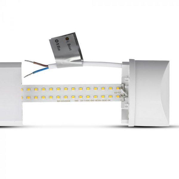 10W LED Batten Fitting, Prismatic, Slim, with SAMSUNG CHIP 1ft (30CM)