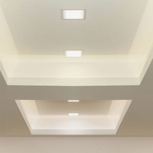 3W LED Recessed Panel Square with Driver