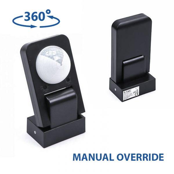 Infrared Sensor Black 1KW 360 degree