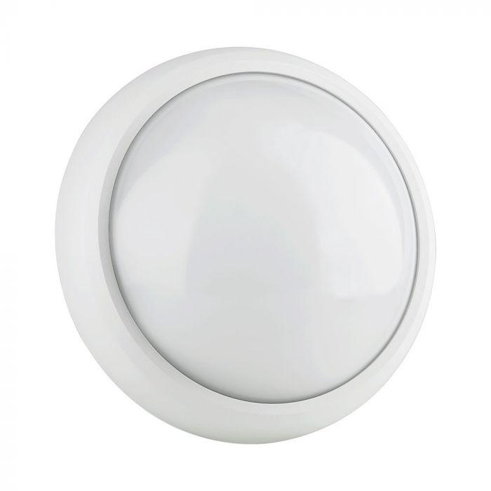 8W LED Bulkhead Light Round IP54