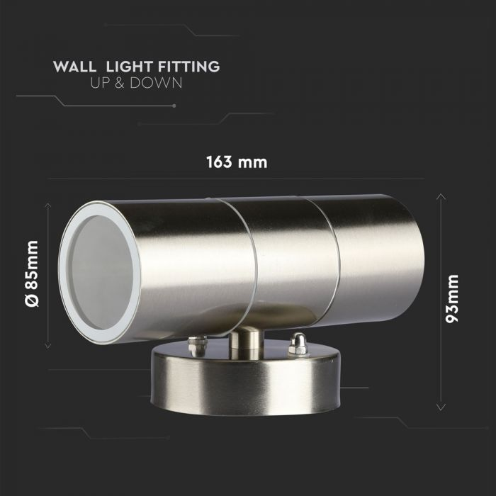 LED Outdoor Wall Light Sizes