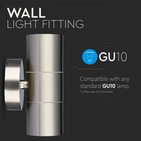 LED Outdoor Wall Lamp GU10
