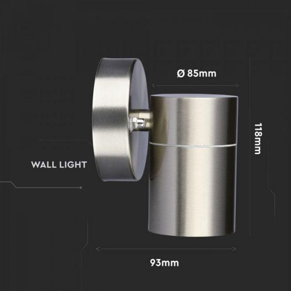 Waterproof LED Wall Fitting Sizes
