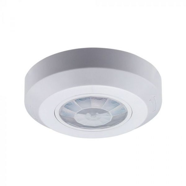 PIR Ceiling Sensor Flat White 360 degree