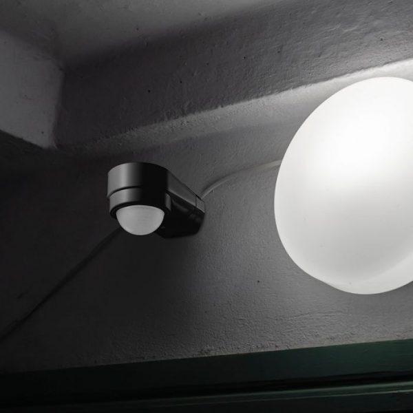PIR Sensor Adjustable for Corner - Black 240 degree