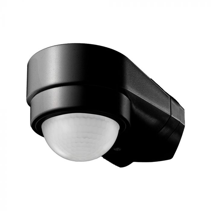 PIR Sensor Adjustable for Corner - Black 240 degree