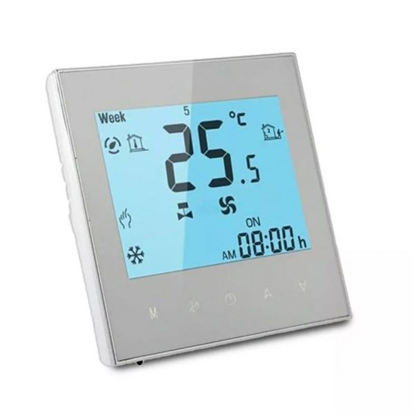 WiFi Coil Room Thermostat - 2 Pipe - Compatible with Alexa and Google Assistant