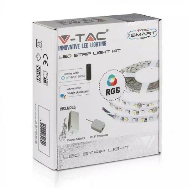 10W LED Smart Strip Light Kit (BS PLUG) IP20 5m reel