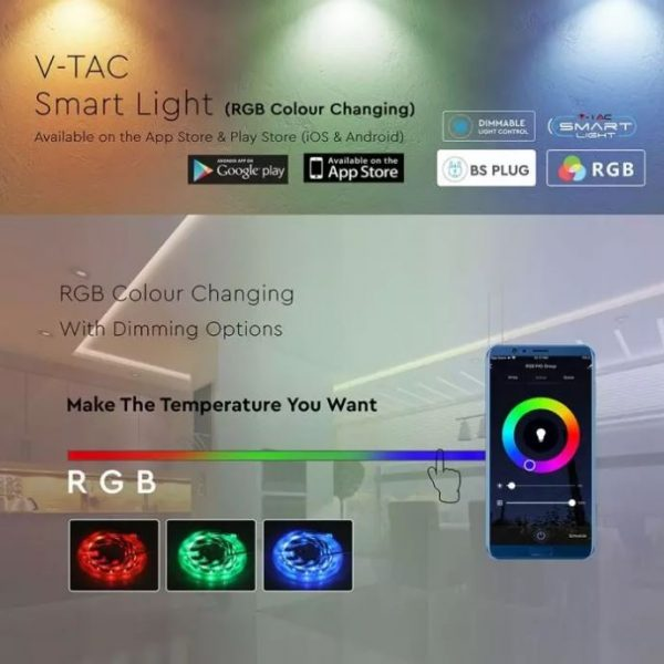 Smart Striplight RGB+3in1