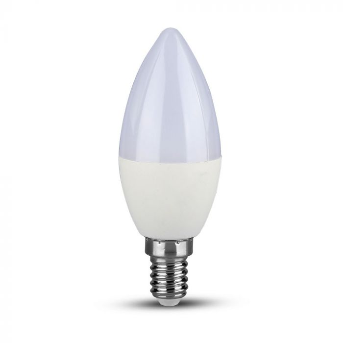 6W Plastic Candle Bulb Dimmable E14