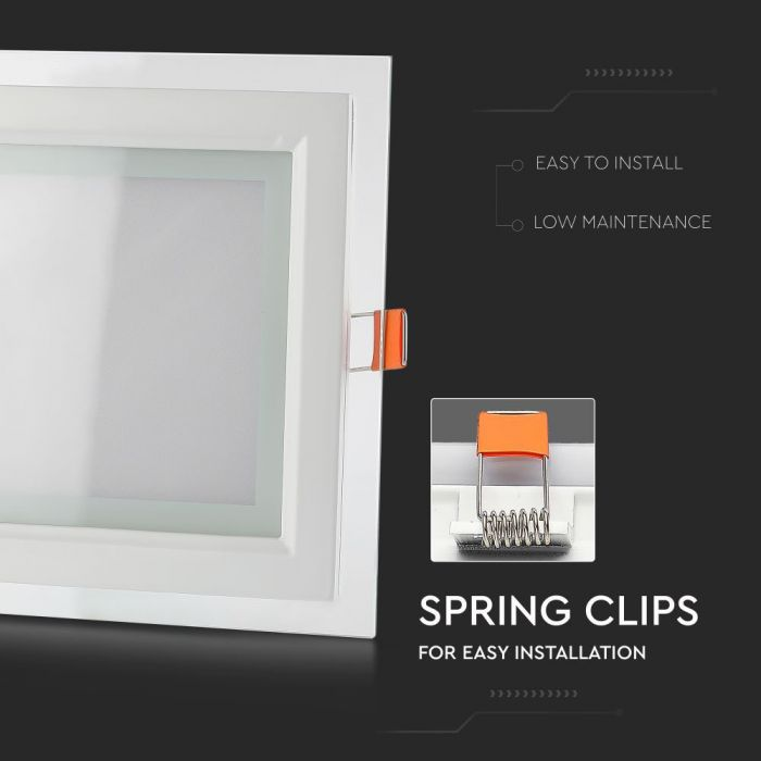 Square Ceiling Lights 100mm