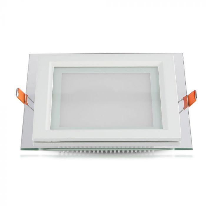 6W glass panel