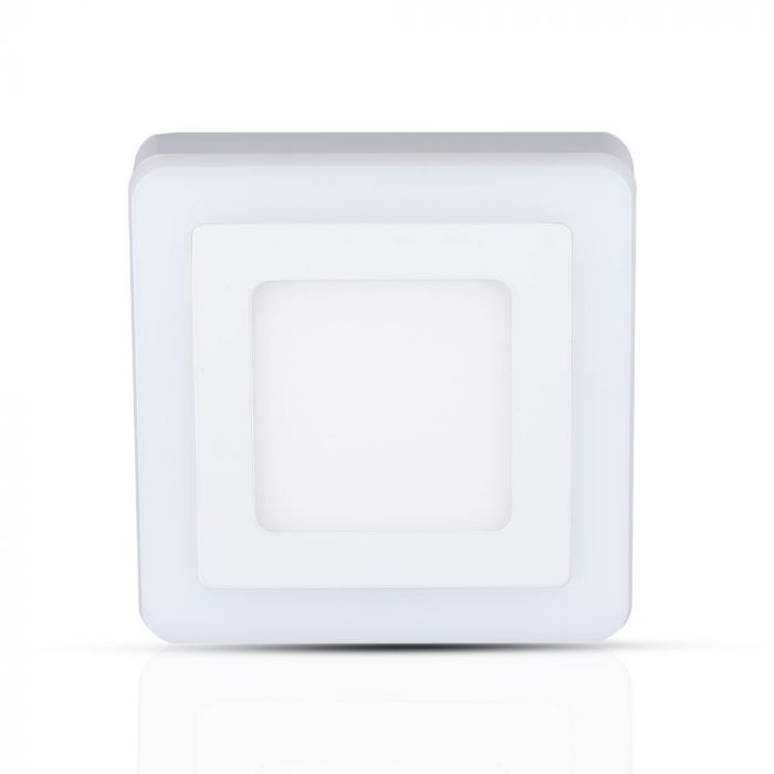 22W LED Surface Twin Panel - Square