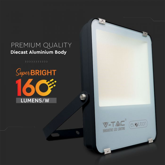 super bright LED floodlight, 160 Lm/W Commercial Floodlight