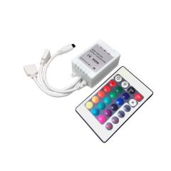 LED Remote Controller For Strip 16 Buttons 72W