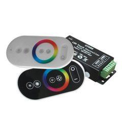 LED Strip Remote Control GRB Mini Touch Controller Black
