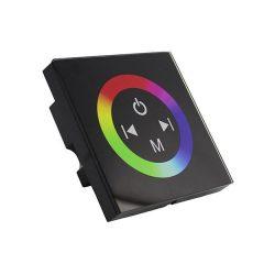 LED RGB Sensor Dimmer Wall Mountable Black