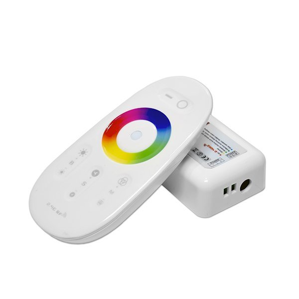 LED Strip Mini Touch Remote Control RGBW White