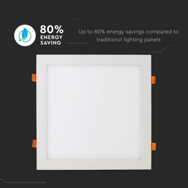36W LED Recessed Panel Square with Driver