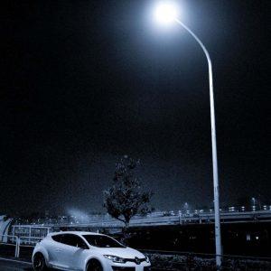 Photocell road lamp