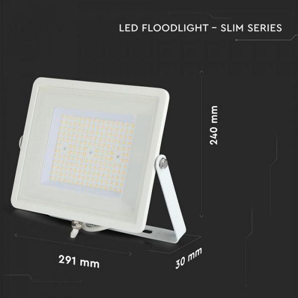 slim floodlight 100W