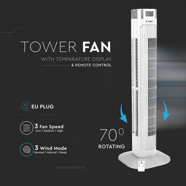 Oscillating 36-Inch Tower Fan