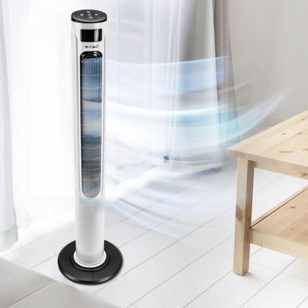 55W 3-speed tower fan