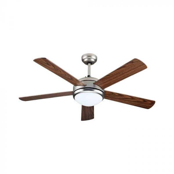 60W 3 Speed Ceiling Fan - 5 MDF Double Color Blades - Remote Control