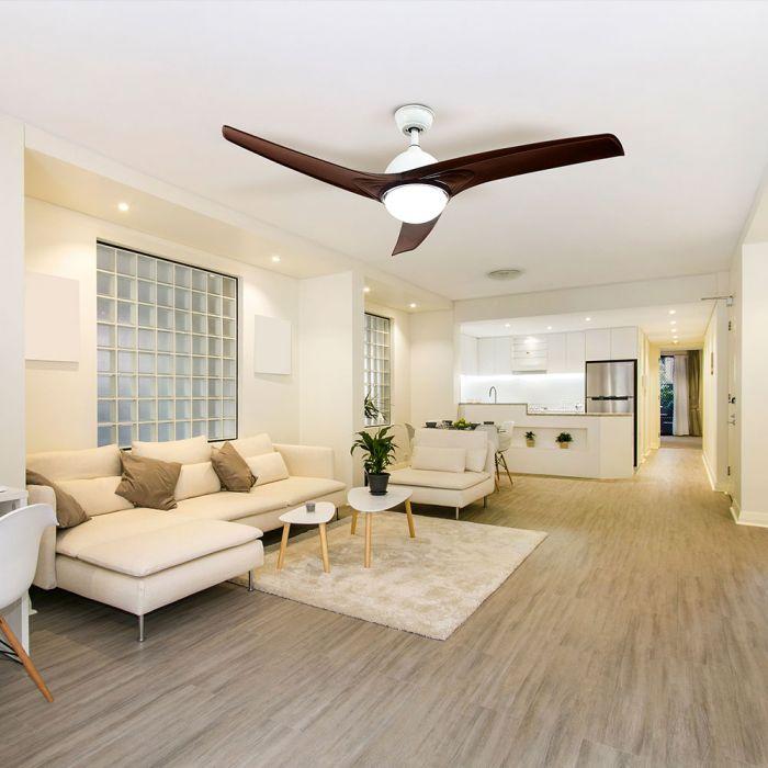 3-blade plastic ceiling fan