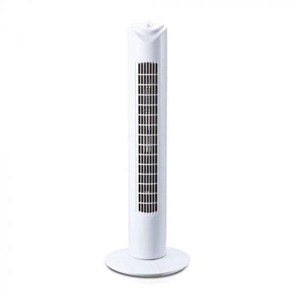 45W Tower Fan White