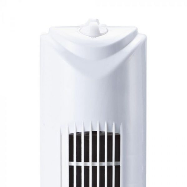 45W Tower Fan White 3 Speed/ 3 Oscillation Function - 31 inches - Cylinder Shape