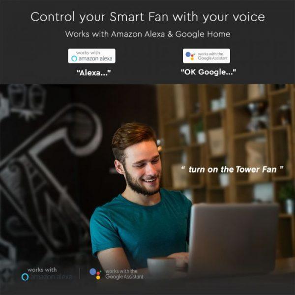 V-Tac Smart Tower Fan