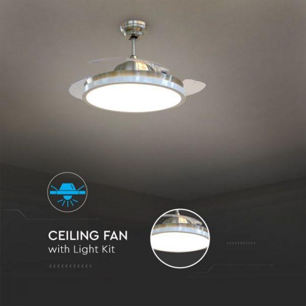 short blade ceiling fan