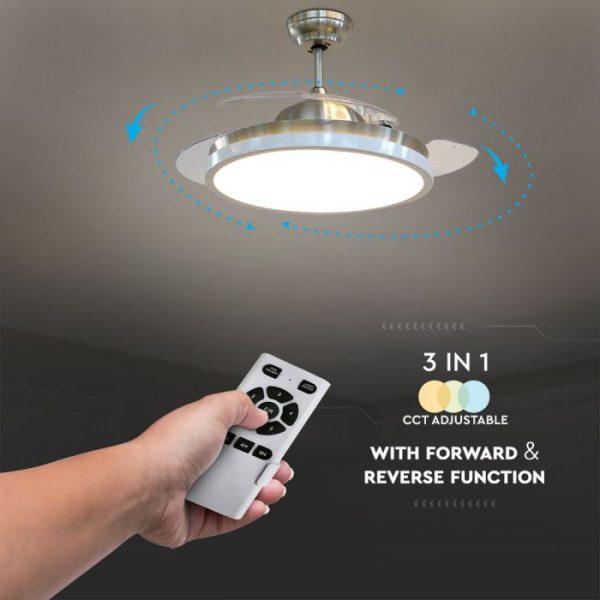 5-speed 3-blade ceiling fan