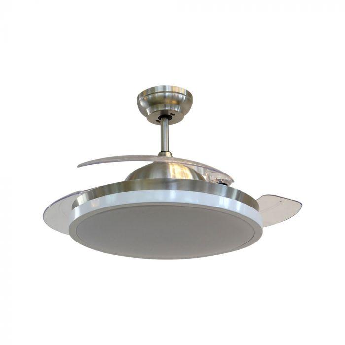35W 5 Speed Ceiling Fan - 3 PC Plastic Blades - Remote Control