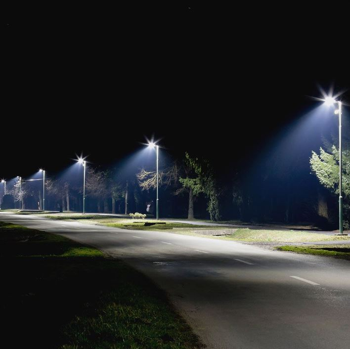 100W LED Street Light CLASS I, Inventronic Driver 5 years Warranty