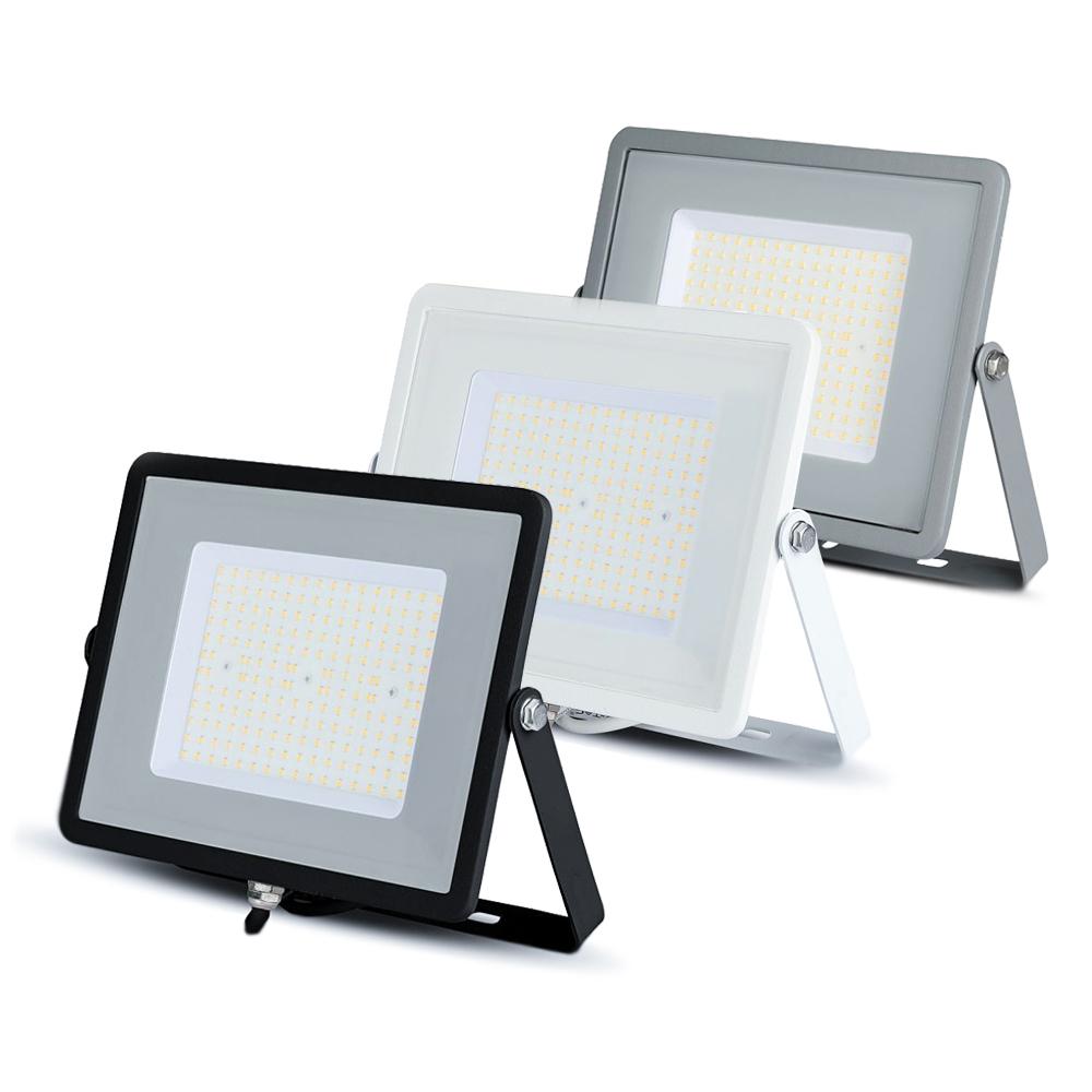 100W LED Floodlight Slimline, 12000 Lumens (120 Lm/W), 100 degree Beam Angle, SMD Samsung Chip, 5 Years Warranty, IP65