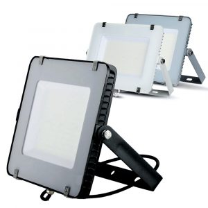 150W LED Floodlight Slimline, 18000 Lumens (120 Lm/W), 100 degree Beam Angle, SMD Samsung Chip, 5 Years Warranty, IP65