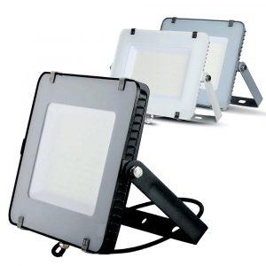 150W LED Floodlight Slimline, 18000 Lumens (120 Lm/W), 100 degree Beam Angle, SMD Samsung Chip, 5 Years Warranty, IP65