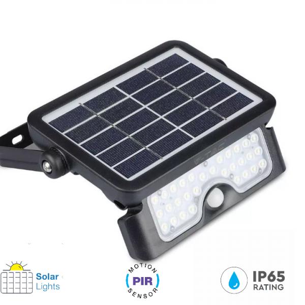 solar pir flood lights