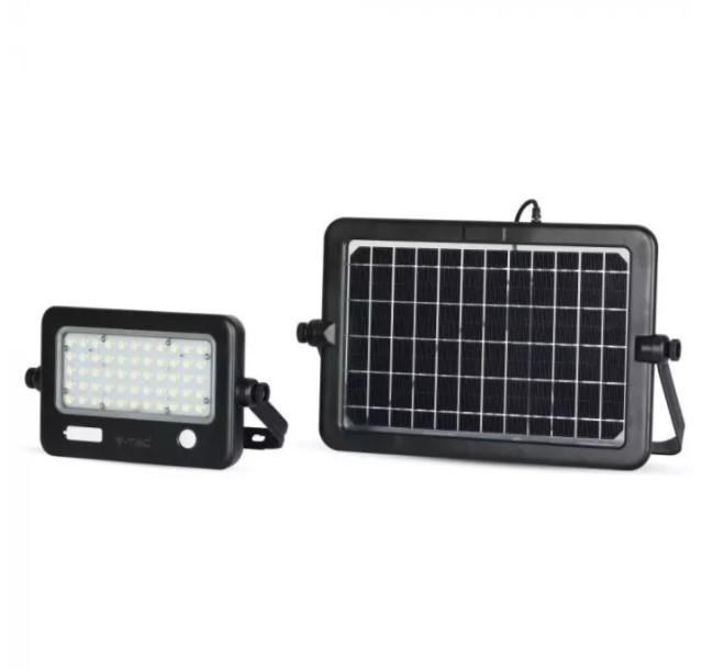 10W solar powered floodlight