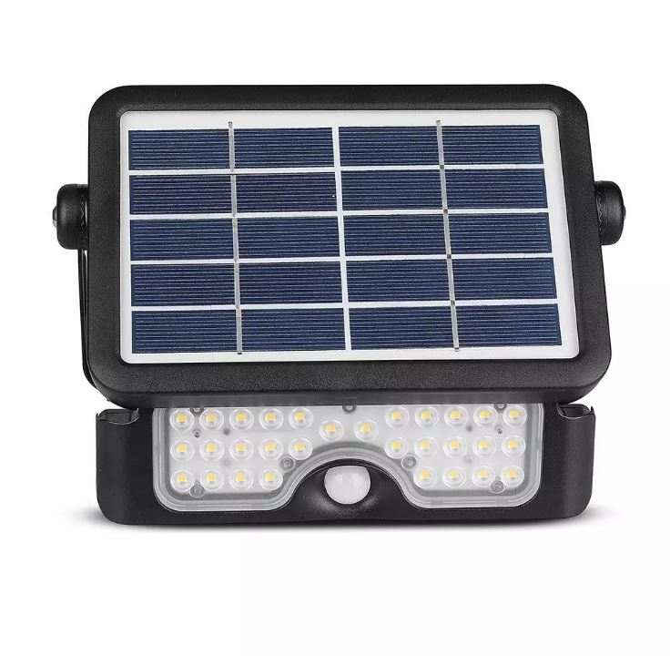 SMD PIR solar floodlight