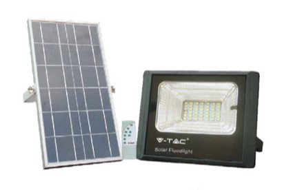 remote control solar floodlight