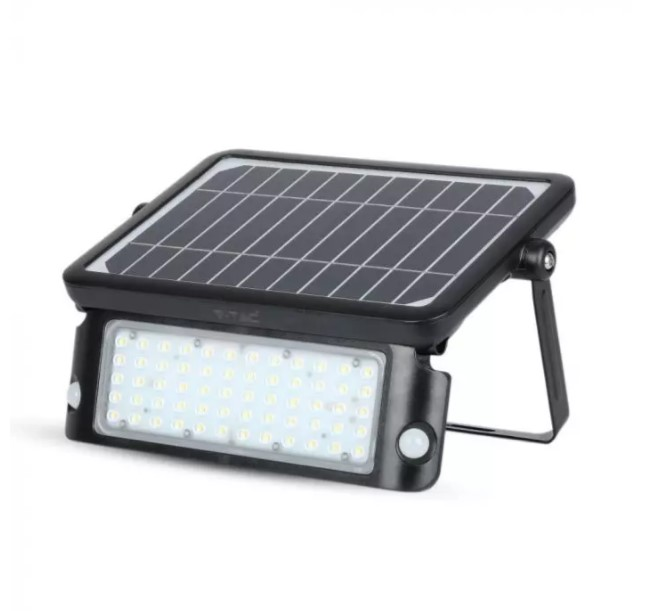 solar PIR floodlights