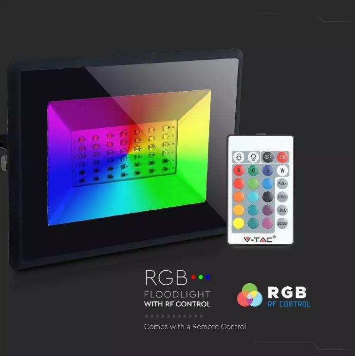 RGB floodlight, remote control RGB Floodlight