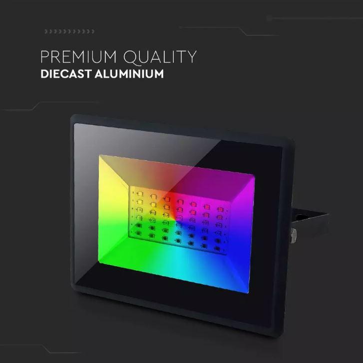 remote control RGB Floodlight